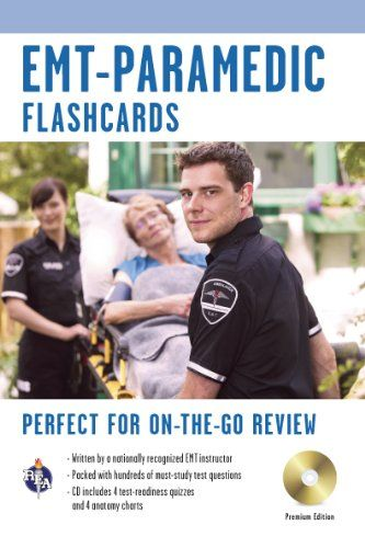 EMT-Paramedic Interactive Flashcards Book (REA) (Flash Card Books) (Jeffrey Lindsey) | Used Books from Thrift Books