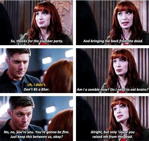 Dean and Charlie | Supernatural