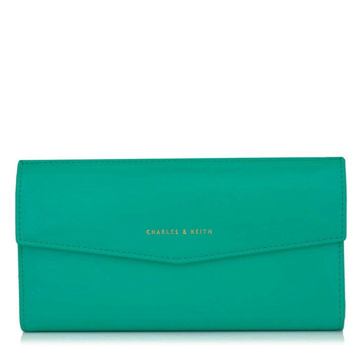 Classic Wallet - Teal - Wallet - Bags | CHARLES & KEITH