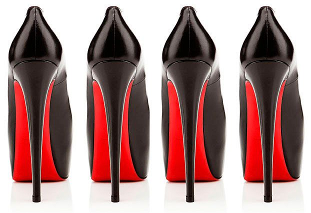 Louboutin-shoes with red soles
