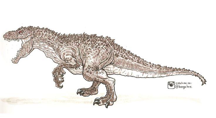 39 mejores imágenes de Jurassic World Indominus Rex/Diabolus Rex en ...