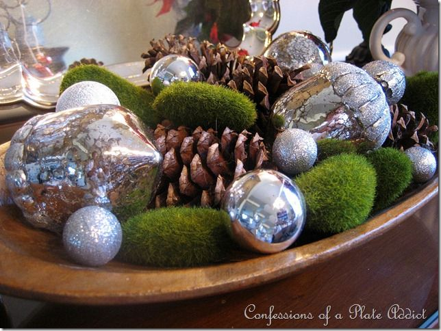 123 best Mercury glass decorating images on Pinterest | Christmas ...