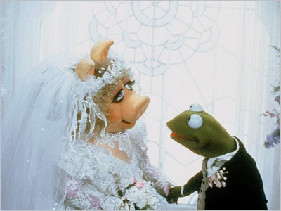 Kermit and Miss Piggy ... of course.