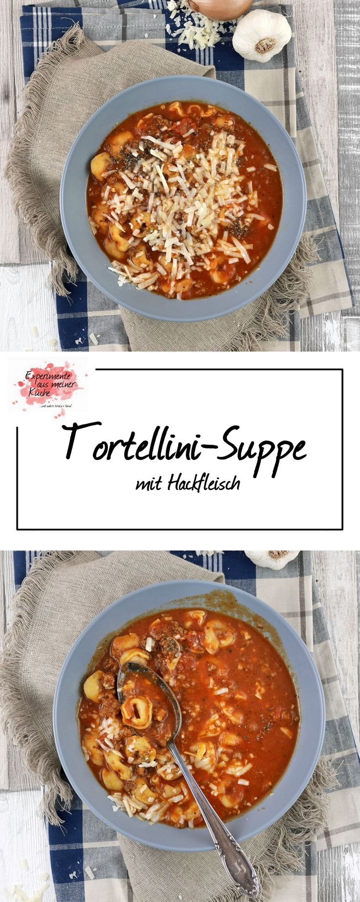 Tortellini-Suppe mit Hackfleisch | Kochen | Rezept | Pasta | Weight Watchers