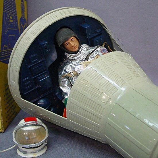 Gi Joe Space Capsule Space Toys Vintage Space Gi Joe