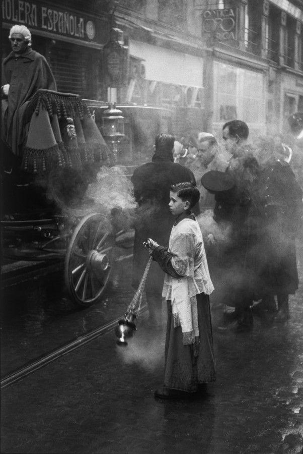 Madrid by Henri Cartier-Bresson