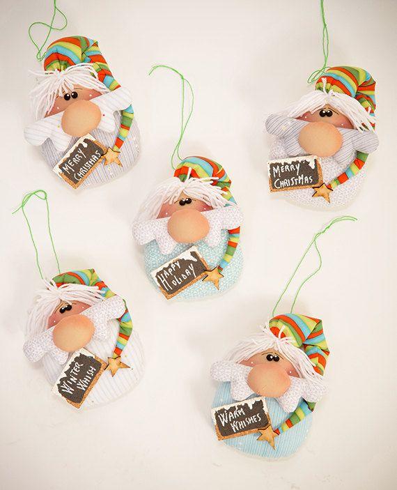 Este patrón en lengua inglesa. Ahora descargable después del pago.    Se trata de adornos para tu árbol de Navidad, deseo de Navidad o regalo.
