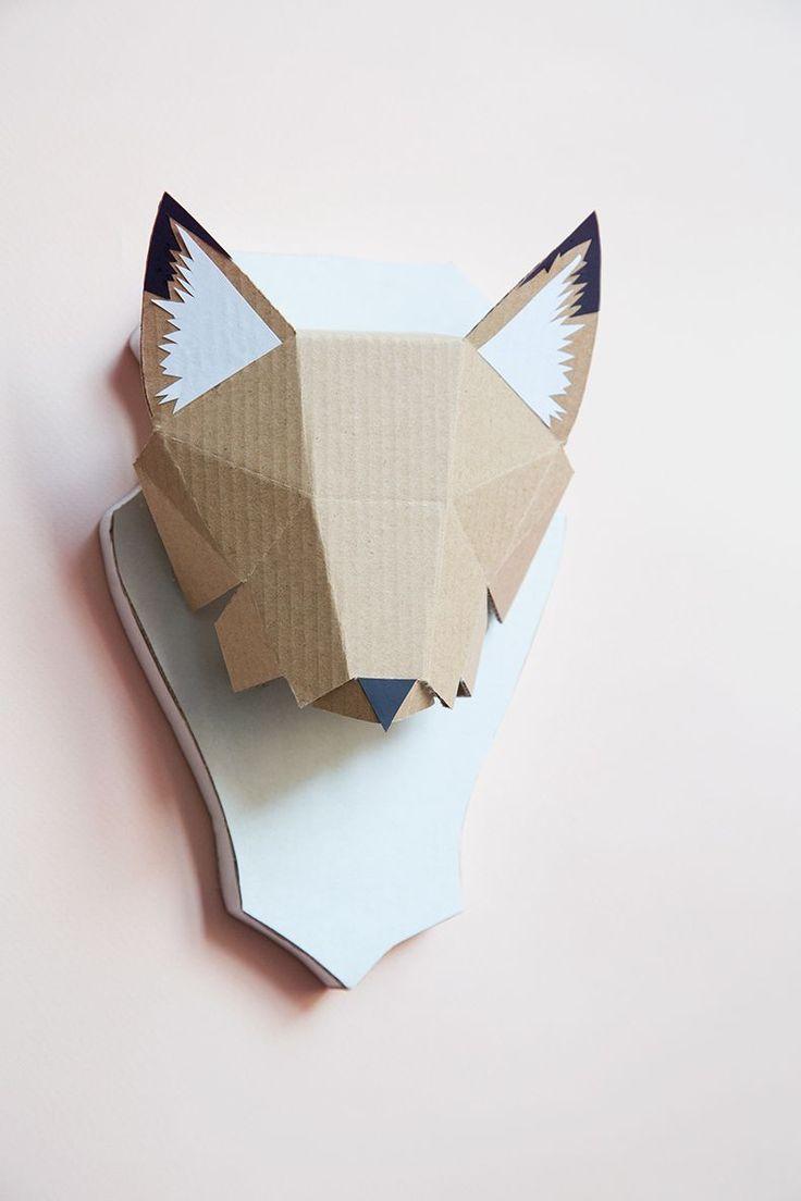 Assez Les 25 meilleures idées de la catégorie Origami fox sur Pinterest  GF39