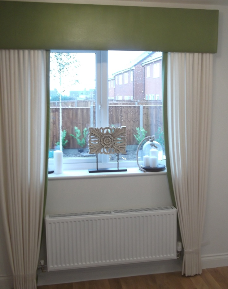Full Length Curtains with valence