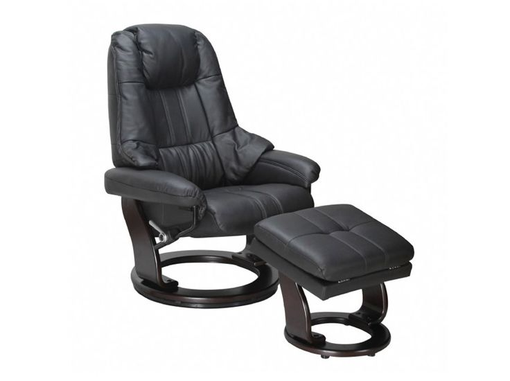Dare to compare the quality and comfort of the Stress Free range of chairs. Treat yourself as never before.  The Knight Stress Free Recliner features a full 360° Swivel Base, plush full Italian leather chair & foot-stool priced much less than comparable chairs. Add to the luxury with the optional side table, able to be fitted to either side of the chair for maximum comfort
