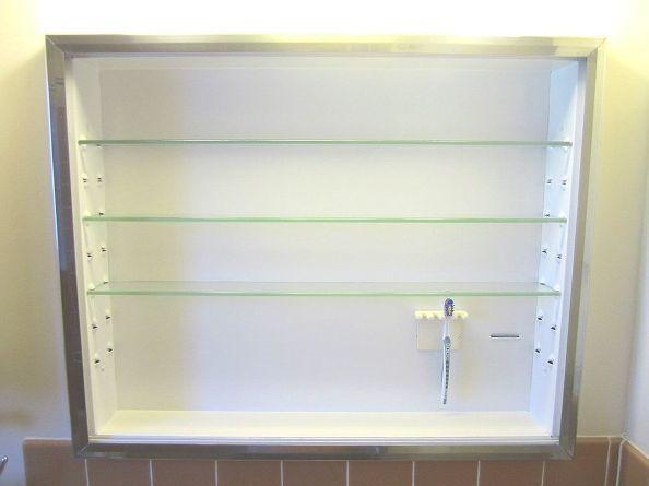 Medicine cabinets repair toothbrush water damage - How to repair water damaged kitchen cabinets ...