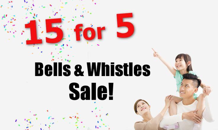 Bells & Whistles Sale! – CMS Homes LLC