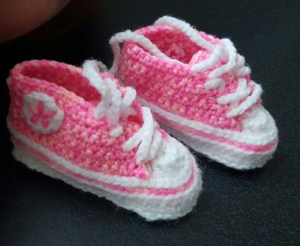 Girls converse style booties