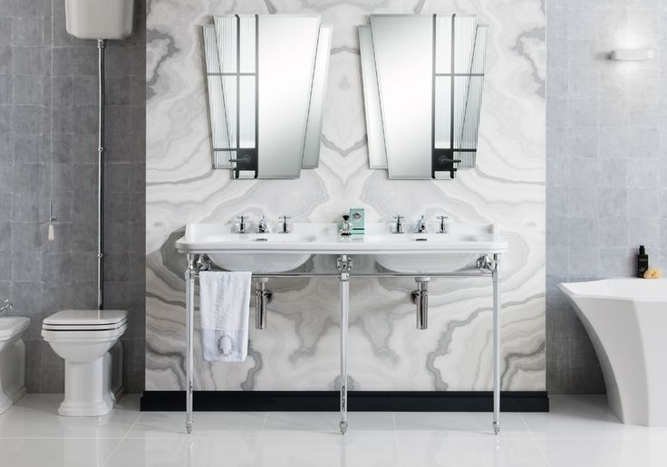 Classic in its inspiration, a truly evocative bathroom collection