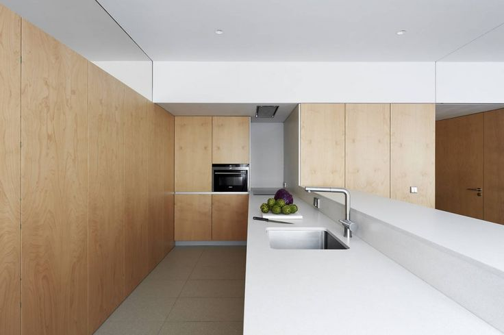 Apartment Refurbishment In Pamplona by Inigo Beguiristain - Kitchen
