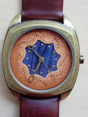 Harry Potter Special Edition Rare Weasley's Clock Watch MINT in Box