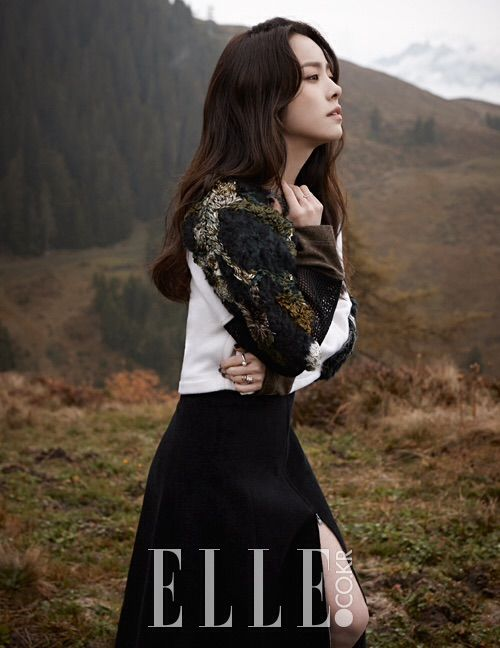 Han Ji Min Wanders the Hills of Switzerland for Elle Korea Magazine | A Koala's Playground