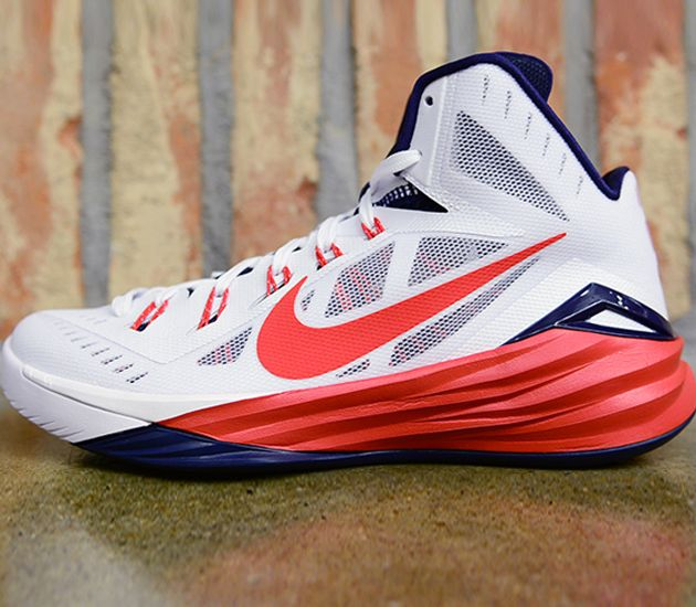 lebron james shoes 2014 red and blue hyperdunks
