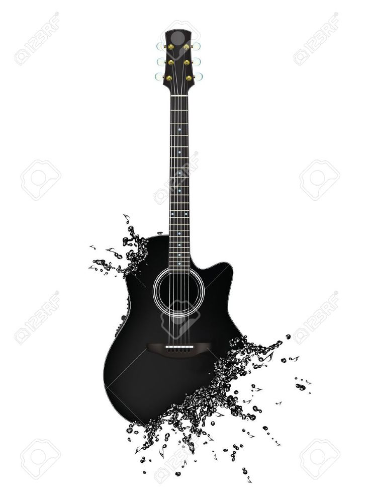 Guitar Silhouette Google Search Music Tattoos Music