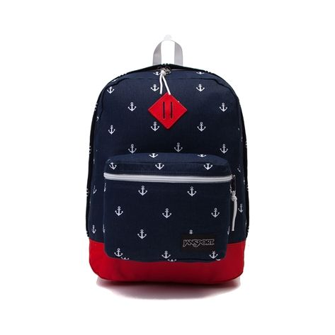 Shop for JanSport Super FX Anchors Away Backpack  in Navy Red White at Journeys Shoes.