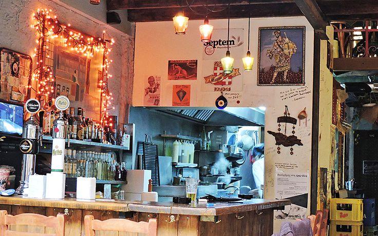 Creative Meze at 'Tripia Potiria' - Greece Is