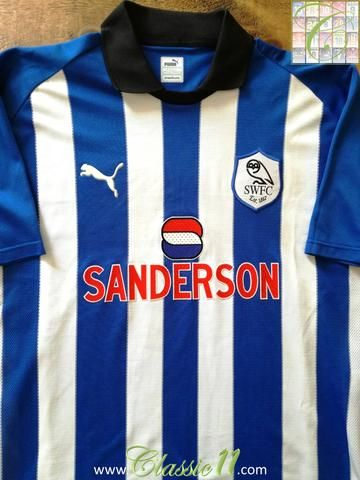Official Puma Sheffield Wednesday home football shirt from the 1999/2000 season.