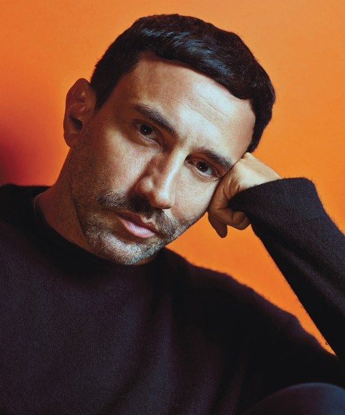 """Riccardo Tisci New Royalty: Fashion """"I have eight older sisters, so I started thinking about fashion when I was very young. I would customize clothes on my best girlfriend—putting together a man's shirt with a Victorian dress. And, being a classic Leo, I would always give my opinion to my sisters. I would watch them put on makeup, and I'd tell them what I thought, which wasn't always welcome. Of course, now they all wear my clothes. They are obsessed."""" Tisci's own Givenchy by Riccardo Tisci…"""