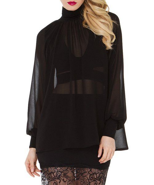 See-Through Blouse For Women