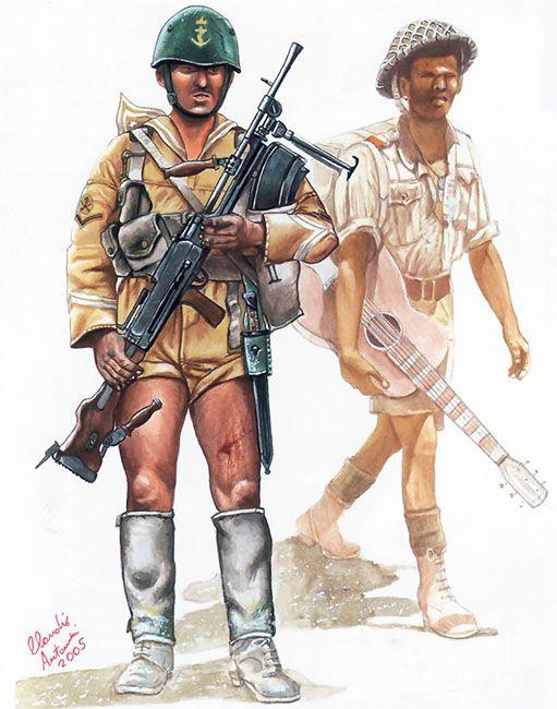 """Leading Rating (Marò Scelto), III Tobruk Battalion, Tobruk Garrison, 1942"", Claudio Antonucci"