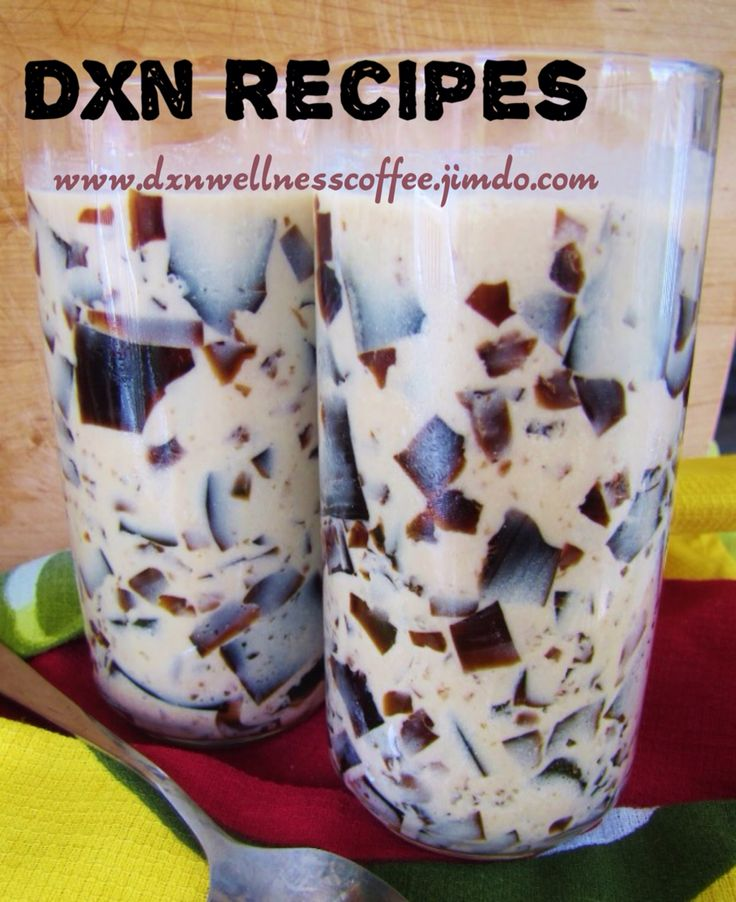 DXN Gelatin Coffee  A cool and delicious way to detoxify.. The gelatin we have used is from Mycoveggie.  Mycoveggie is an organic vegetable powder which is high in fibre. It consist the following vegetables: Noni Leaf, Celery, ginger,shitake mush, lion's mane, oyster, gingko leaf, mulberry leaf, spices, spirulina & greentea. High in Fibre, Calcium, Iron & Vit C.   I use Lingzhi Coffee 3 in 1 for this recipe.