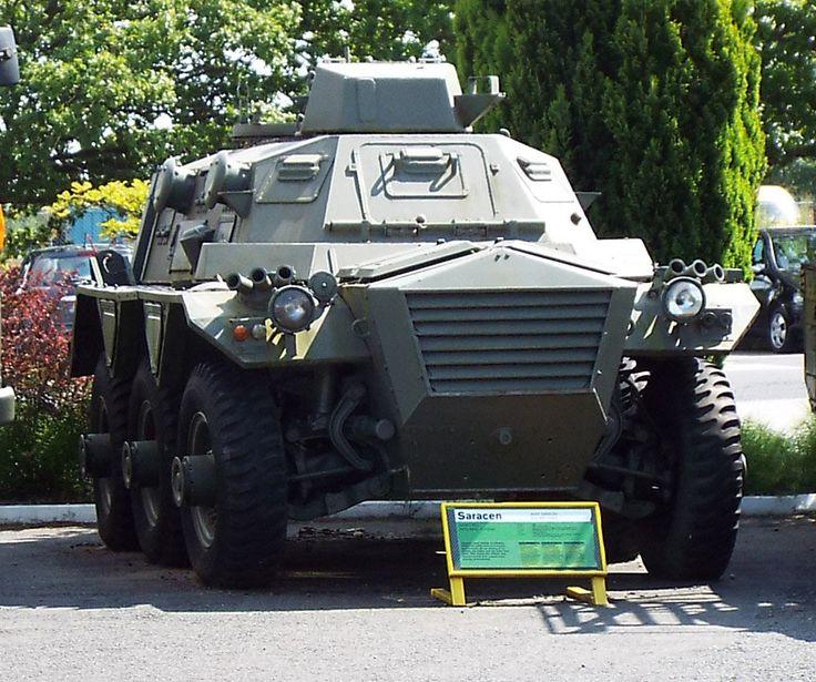 Alvis Saracen Armoured Personnel Carrier 1952 Yorkshire Air Museum Elvington