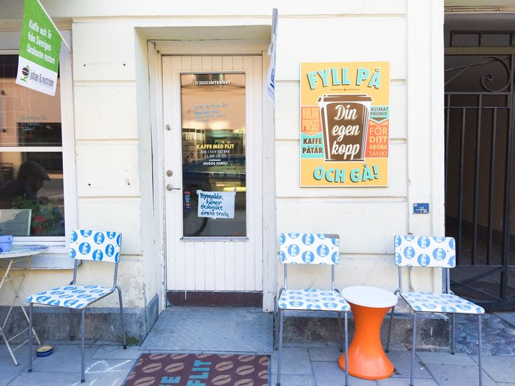 """hugos kaffe: a funky café in uppsala with an asheville vibe (a throwback to my """"fika girl"""" days) #coffee #sweden"""