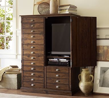 108 best images about hide your flat screen on pinterest for Hidden tv cabinets for flat screens