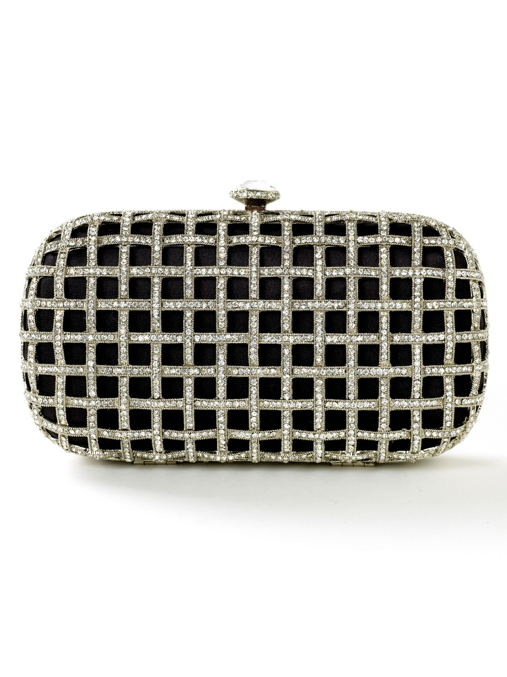 Crystal Cage Clutch
