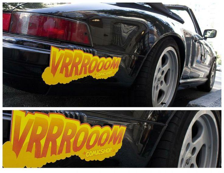Comic Shop: Vrrrooom