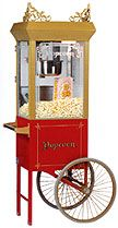 FUN FOOD MACHINES POPCORN MACHINE RENTALS Nothing pleases a crowd quite like fresh, hot popcorn!!! Enjoy the sound and aroma of popcorn being popped at your next party, event or celebration! Our popcorn rental units have etched glass, cast filigree and brass-like antique finish. The units can be rented with the popcorn machine only or …