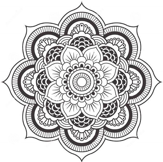 25 Best Ideas About Lotus Flower Mandala On Pinterest
