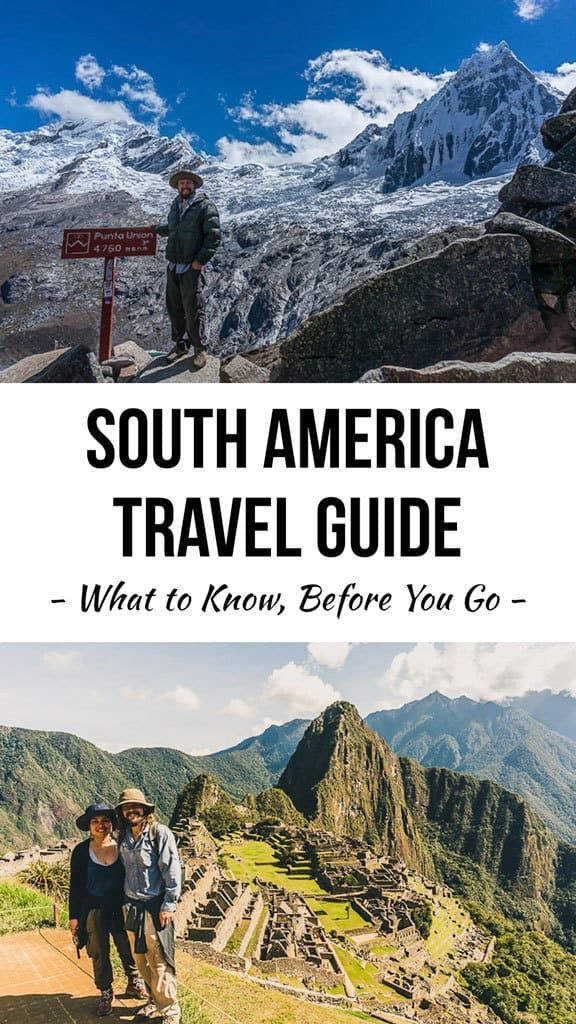 South America is an amazing content... If you're making travel plans for 2018, I'd strongly recommend heading to the incomparable South America. Check out my guide.
