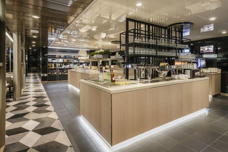 Tallink Megastar ferry restaurant buffet lounge