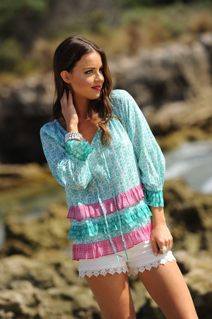 Talisman Fortune top is perfect to pack in your suitcase......