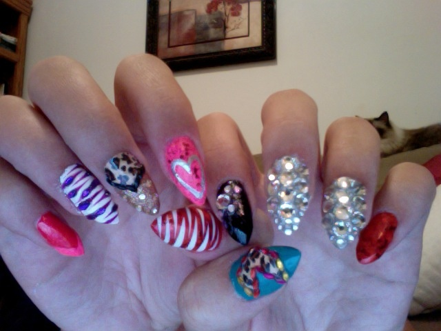 The DIVA set... tried the claws and LOVE them!!!