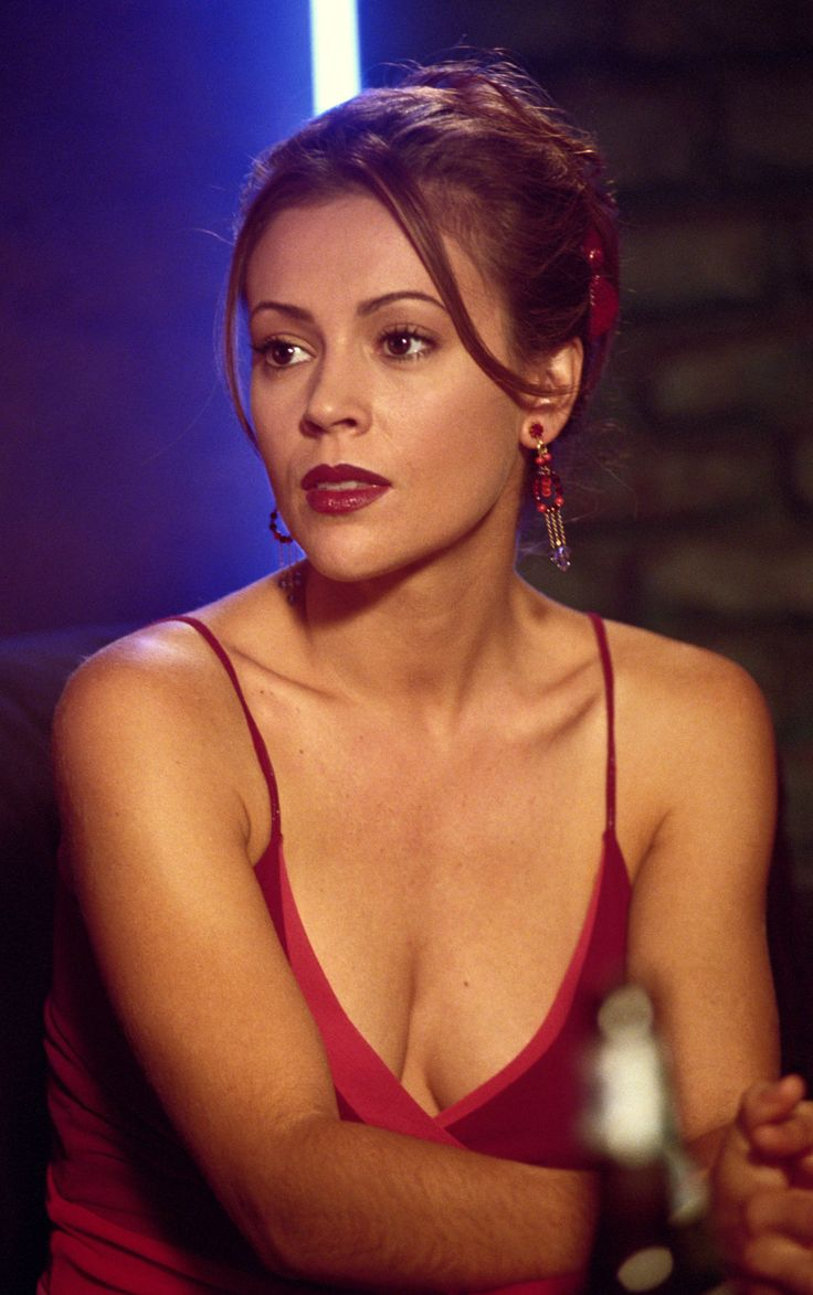 Alyssa Milano as Phoebe Halliwell - Charmed