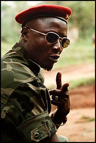 Sam Bockarie was one of the top leaders of the Revolutionary United Front (RUF) in Sierra Leone. The RUF were reported to have conducted a violent campaign against the civilian population which consisted of collective executions, mutilations, amputations, sexual violence, forced labor in the diamond mines and in the enrollment and use of child soldiers.
