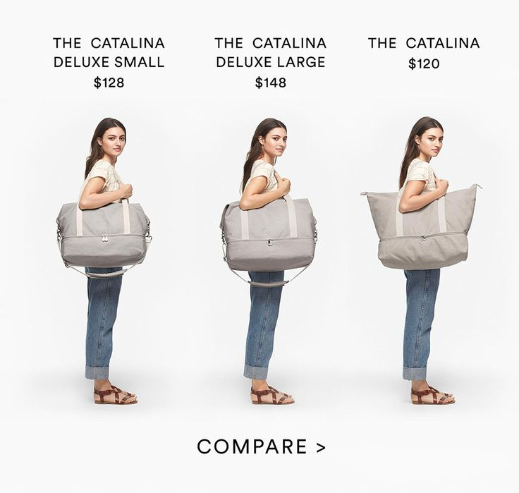 The Catalina Deluxe - Canvas Weekender Bag
