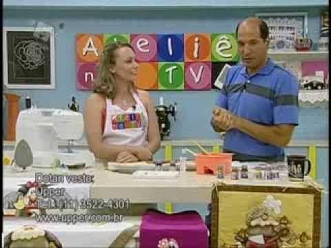 Ateliê na TV - 16/01/14 - Priscila Muller / Geralda
