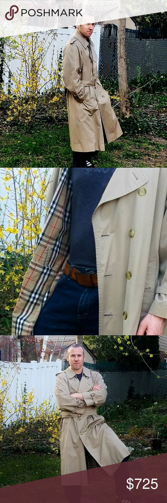 Vintage Prorsum Burberry Trench  Coat-40 Vintage Burberry Prorsum Trench Coat Jacket Men Size 40 Regular. In?excellent vintage condition with minimal signs of use.? Men's coat, but can be worn by women as well. Burberry Jackets & Coats Trench Coats