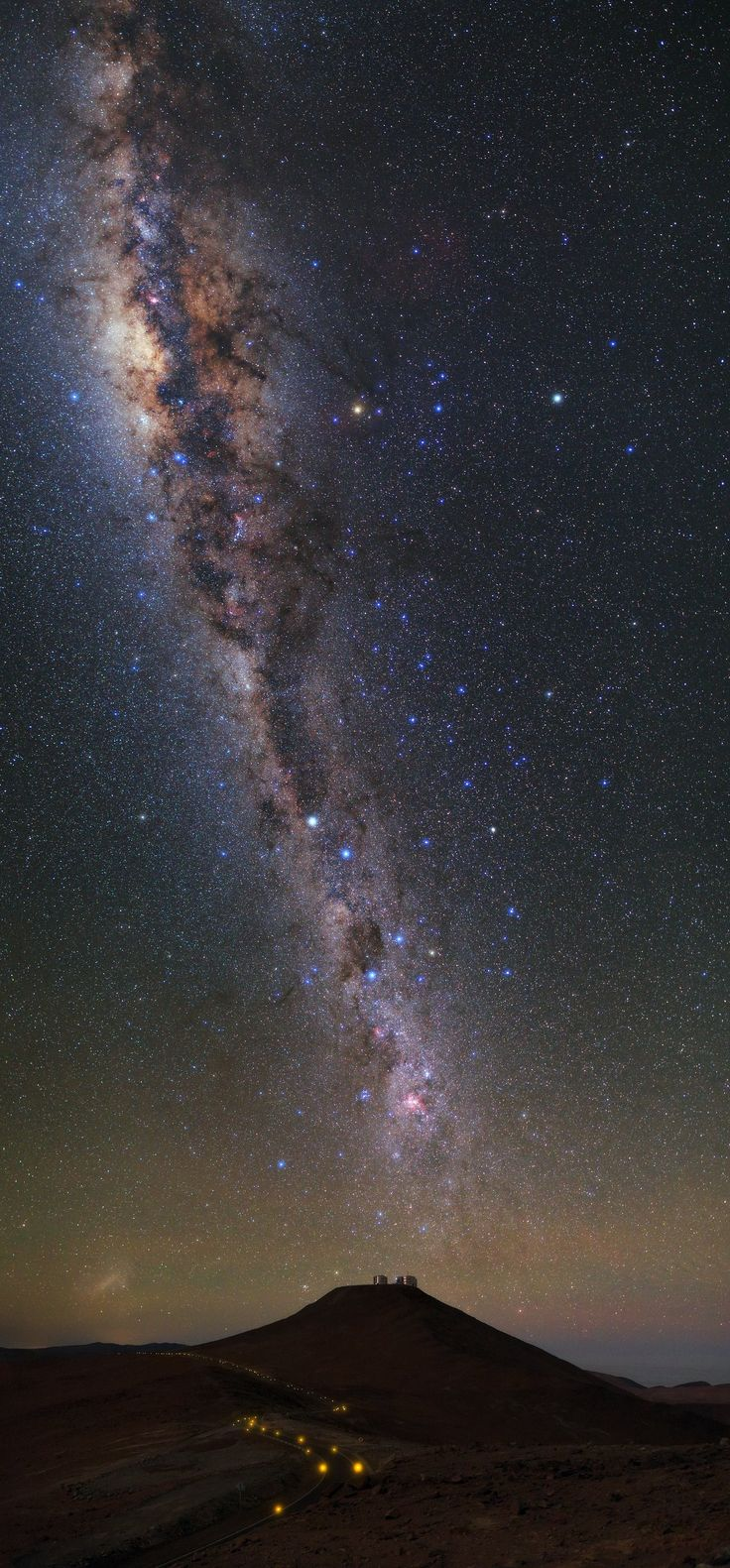 Milky Way  Up high | ESO