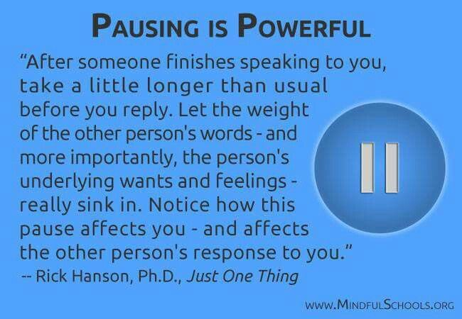 Listening with intention is powerful stuff.
