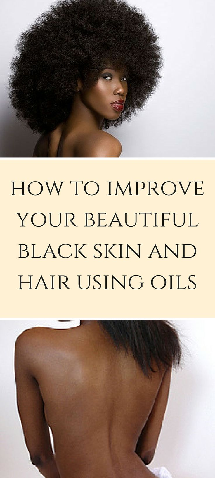 Typically it's thought that African American skin is oily and you shouldn't use oils on oily skin. But on the contrary,... http://blog.nyrajuskincare.com/2016/06/24/how-to-improve-your-beautiful-black-skin-and-hair-using-oils/