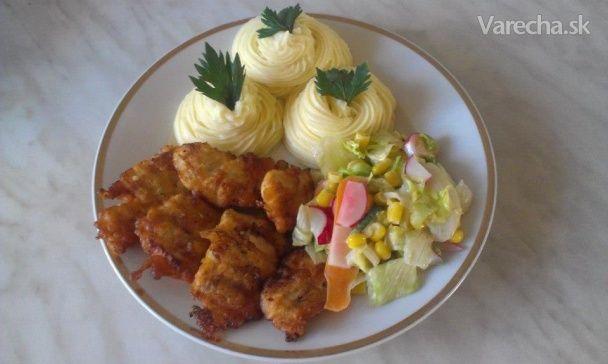 Kuracie nugetky so zemiakovým pyré